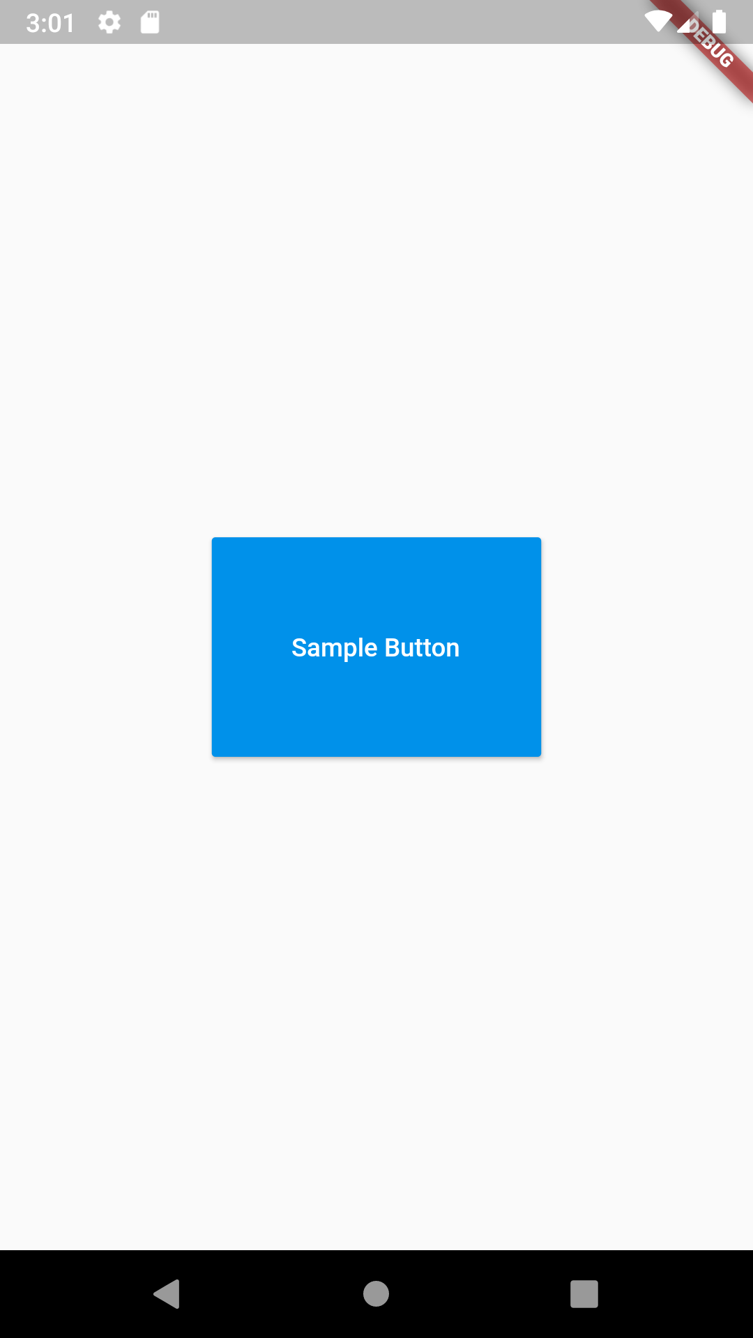 Set Raised Button Height Width in Flutter Android iOS Example