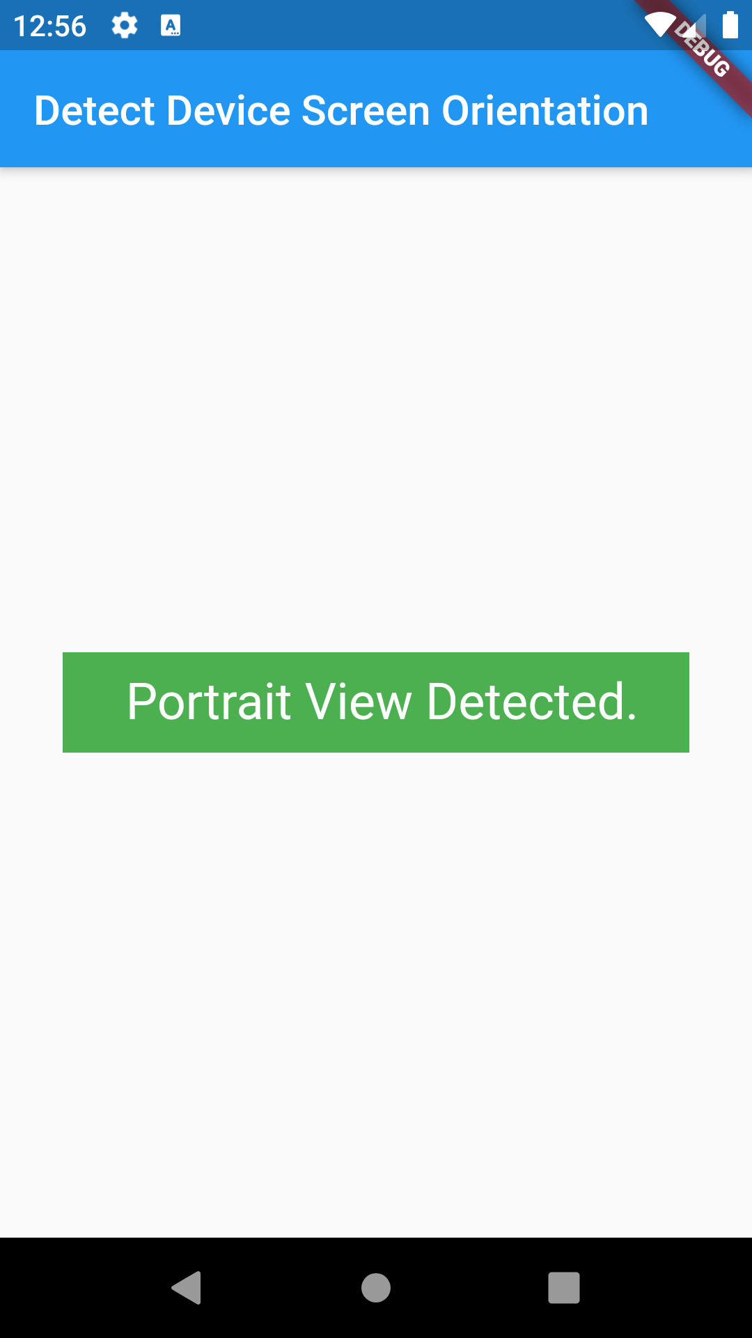 Flutter Detect Device Orientation Load Different UI Layout Example