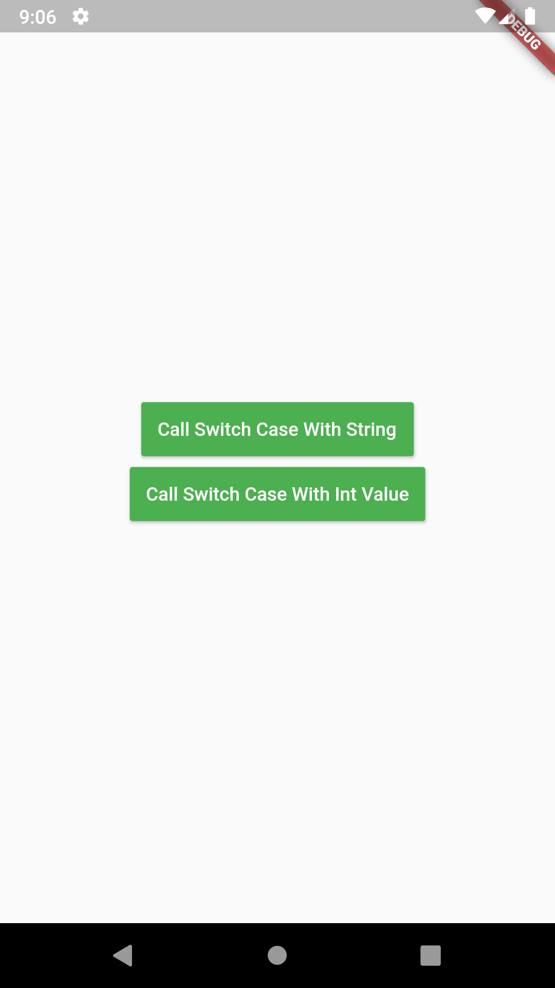 Use Switch Case Conditional Statement in Dart Flutter Example