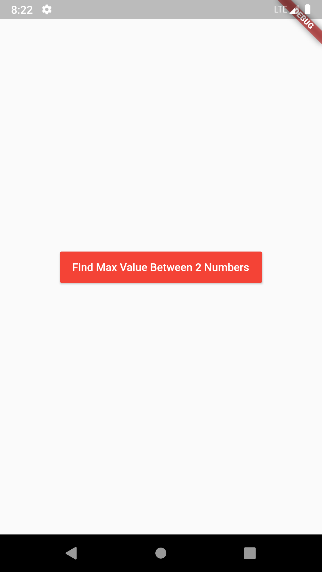 Flutter Dart Find Max Number Value Between Two Numbers Example