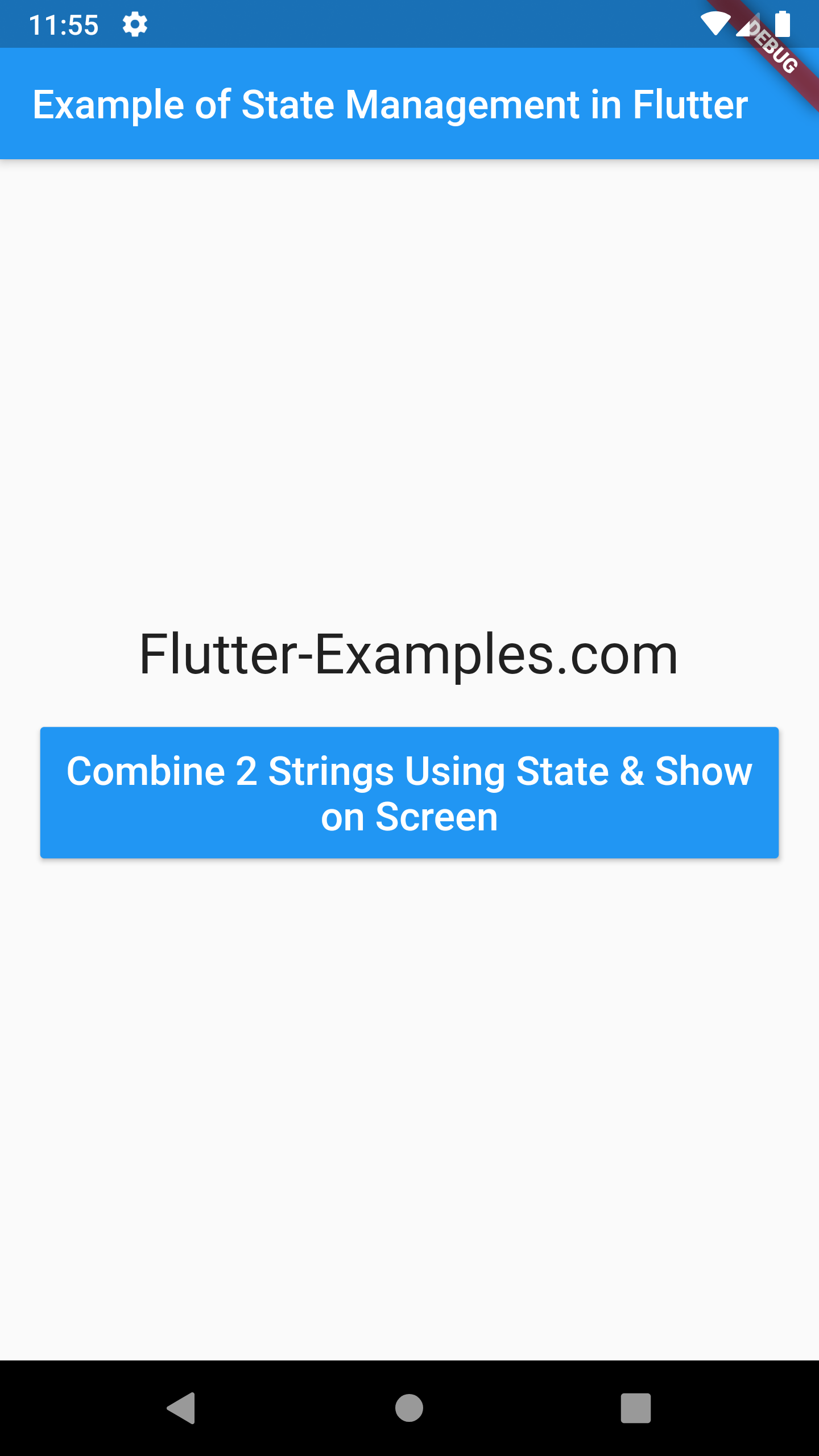 Example of How to Use State Management in Flutter